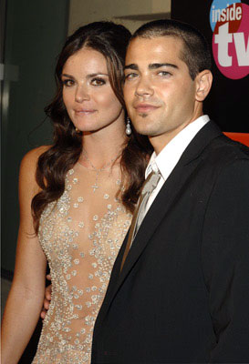 Jesse Metcalfe with Courtney Robinson TV Guide & Inside TV After Party Emmy Awards - 9/18/2005