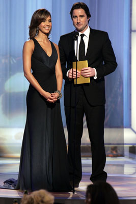 Presenters Jessica Alba and Luke Wilson 63rd Annual Golden Globe Awards Beverly Hills, CA - 1/16/05