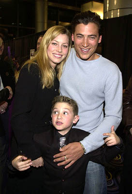 Premiere: Jessica Biel, Andrew Keegan and Mike Weinberg at the LA premiere of Miramax's Stolen Summer - 2/19/2002