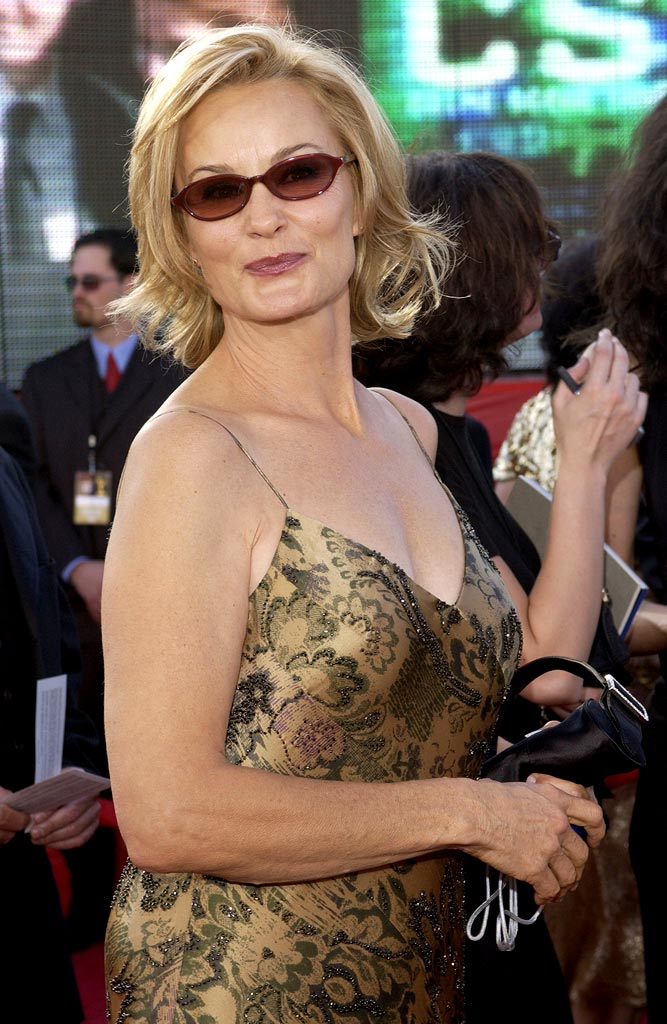 Jessica Lange at The 55th Annual Primetime Emmy Awards.