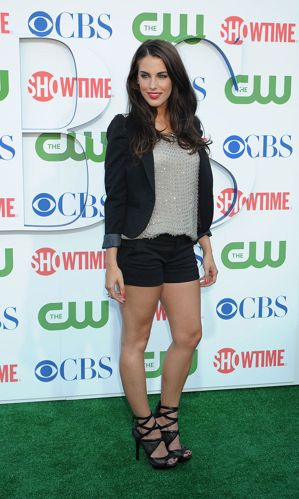 """90210's"" Jessica Lowndes arrives at the TCA Summer 2010 CBS/The CW/Showtime ""Star Party in the Tent"" on July 28, 2010 in Beverly Hills, California."