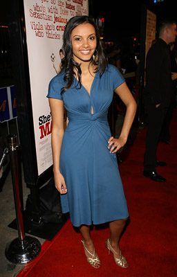 Premiere: Jessica Lucas at the LA premiere of Dreamworks' She's the Man - 3/8/2006