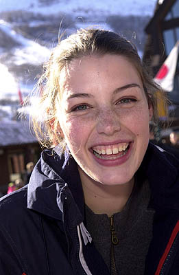 Jessica Pare The Ice Rink Sundance Film Festival 1/20/2001