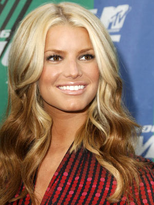 Jessica Simpson 2006 MTV Movie Awards - Arrivals Culver City, CA - 6/3/2006