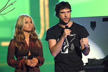Jessica Simpson, Dane Cook MTV Movie Awards - 6/3/2006