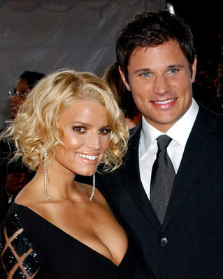 Jessica Simpson and Nick Lachey 31st Annual People's Choice Awards Pasadena, CA - 1/9/05