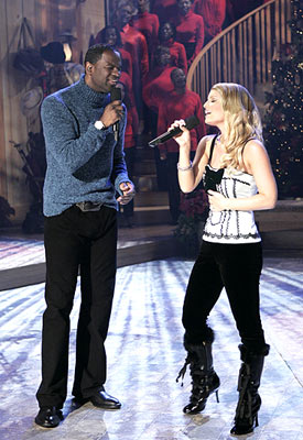 "Jessica Simpson and Brian McKnight ABC's ""Nick & Jessica's Family Christmas"""