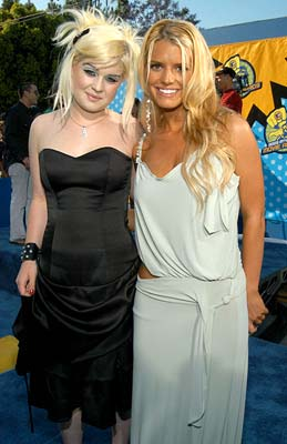 Kelly Osbourne and Jessica Simpson MTV Movie Awards - 5/31/2003