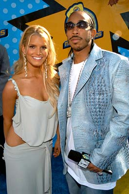 Jessica Simpson and Ludacris MTV Movie Awards - 5/31/2003