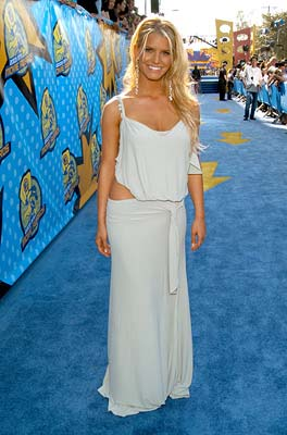 Jessica Simpson MTV Movie Awards - 5/31/2003