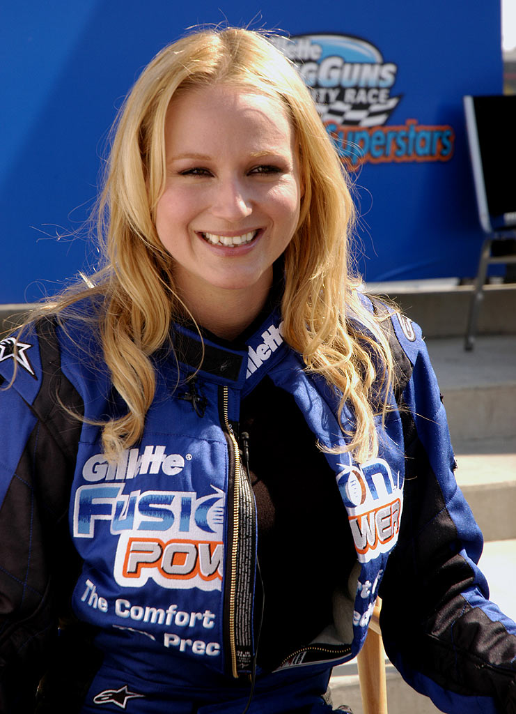 Jewel competes in Fast Cars & Superstars -- The Gillette Young Guns Celebrity Race.