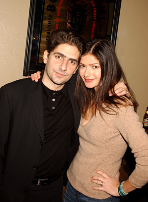Michael Imperioli and Jill Hennessy Love In The Time Of Money Sundance Film Festival 1/11/2002