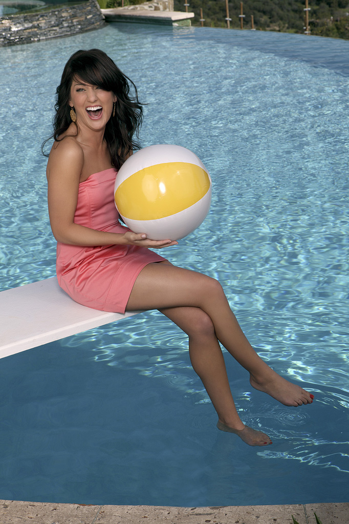 "Jillian Harris starring in the fifth edition of ""The Bachelorette,"""