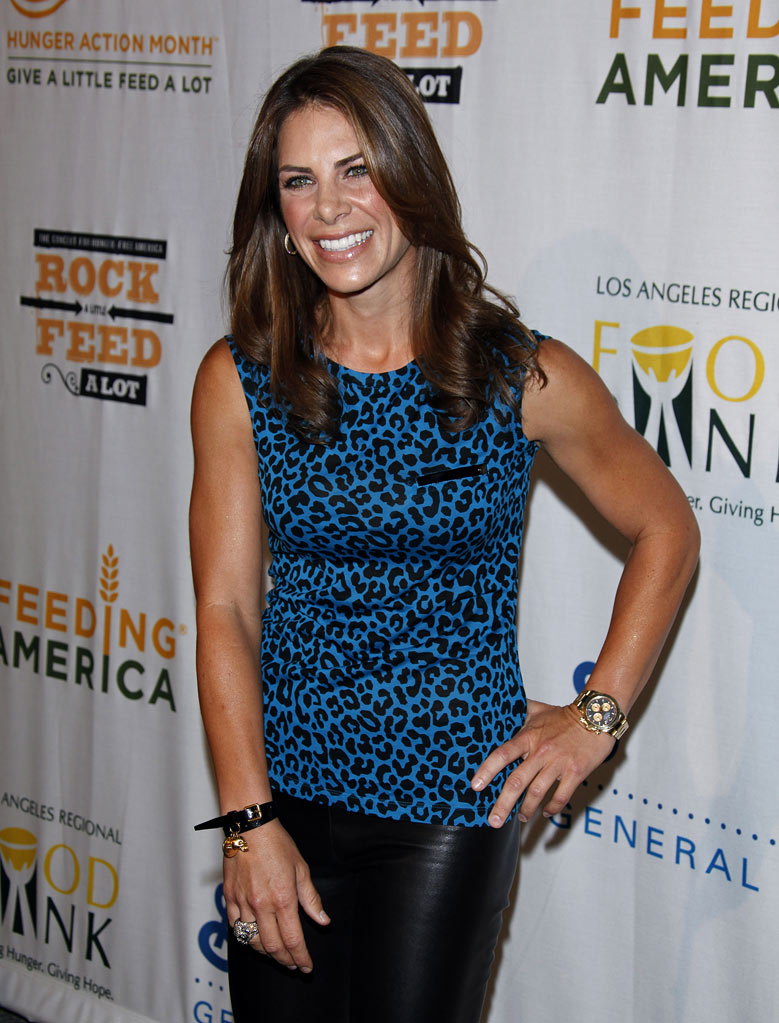"Jillian Michaels arrives at the ""Rock A Little, Feed A Lot"" Benefit Concert at Club Nokia on September 29, 2009 in Los Angeles, California."