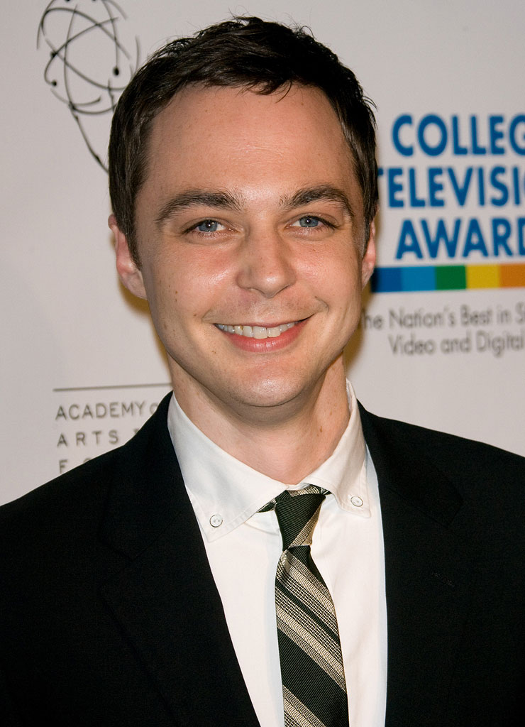 Jim Parsons arrives at the 30th College Television Awards Gala at The Culver Studios on March 21, 2009 in Culver City, California.