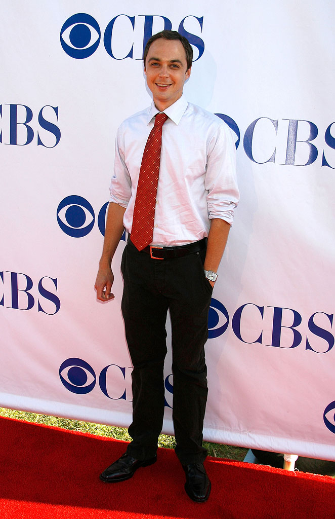 Jim Parsons arrives at the CBS Summer Press Tour Stars Party 2007 at the Wadsworth Theatre on July 19, 2007 in Los Angeles, California.