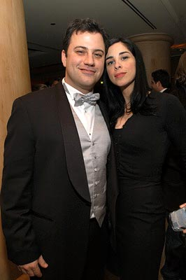 Jimmy Kimmel, Sarah Silverman Miramax After-Party 75th Academy Awards - 3/23/2003
