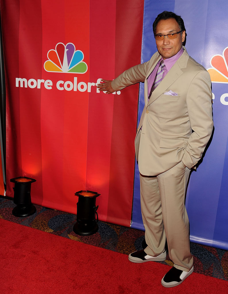 Jimmy Smits attends the 2010 NBC Upfront presentation at The Hilton Hotel on May 17, 2010 in New York City.