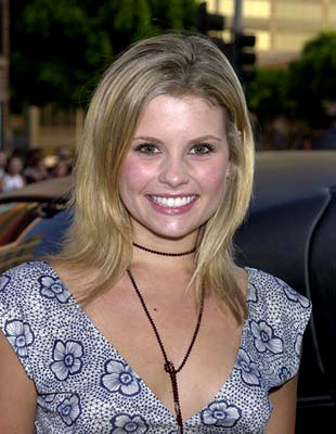 Premiere: Joanna Garcia at the Westwood premiere of Universal's American Pie 2 - 2001