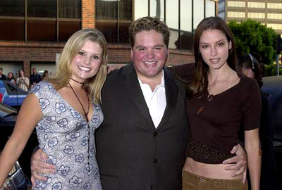 Premiere: Joanna Garcia, Ron Lester and Chyler Leigh at the Westwood premiere of Universal's American Pie 2 - 8/6/2001
