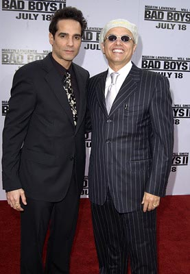 Premiere: Yul Vasquez and Joe Pantoliano at the LA premiere of Columbia's Bad Boys II - 7/9/2003