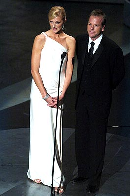 Joely Richardson and Kiefer Sutherland Presenters for Outstanding Made for Television Movie Emmy Awards - 9/19/2004