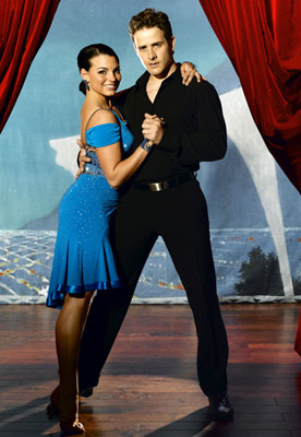 Joey McIntyre and Ashly DelgrossoABC's Dancing with the Stars