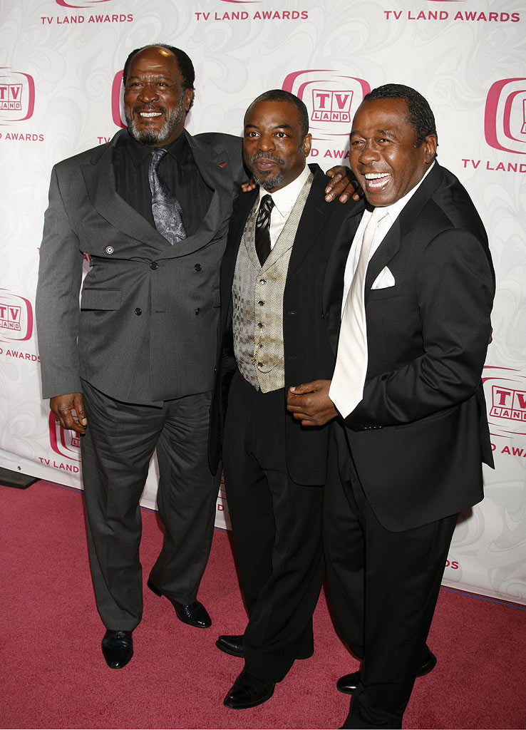 John Amos, LeVar Burton and Ben Vereen at the 5th Annual TV Land Awards.