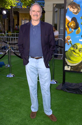 Premiere: John Cleese at the L.A. premiere of Dreamworks' Shrek 2 - 5/8/2004
