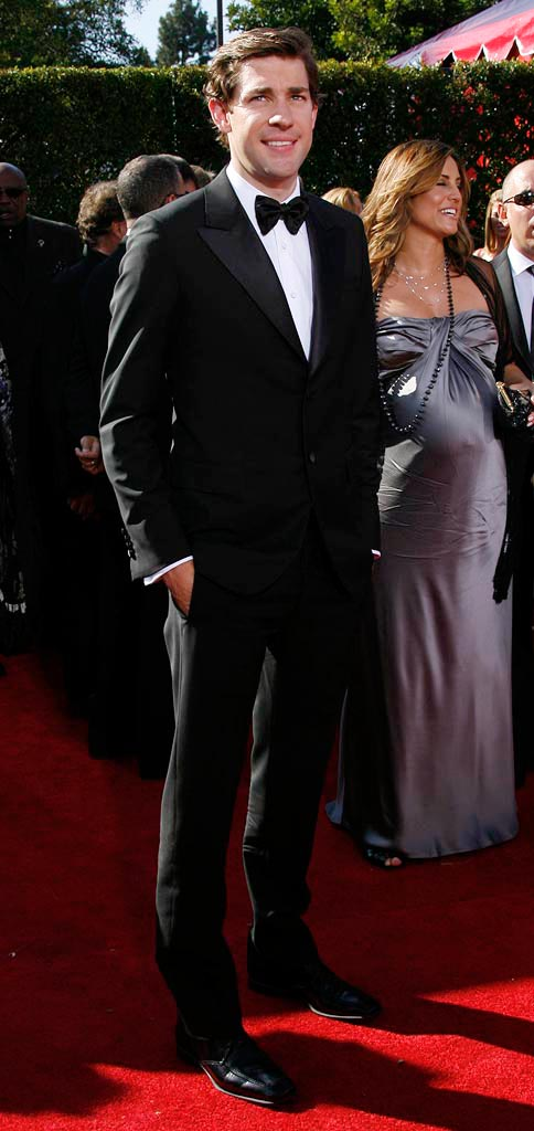 John Krasinski arrives at the 59th Annual Primetime Emmy Awards -  September 16, 2007