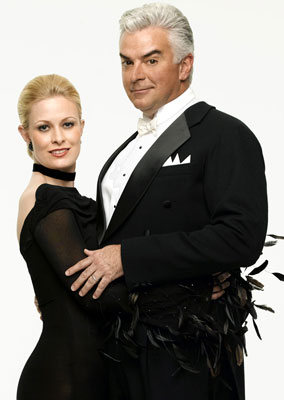 John O'Hurley and Charlotte JorgensenABC's Dancing with the Stars