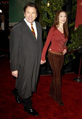Premiere: John Ritter and Amy Yasbeck at the Hollywood premiere of Warner Brothers' Harry Potter and The Chamber of Secrets - 11/14/2002
