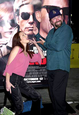 Premiere: Amy Yasbeck and John Ritter at the Westwood premiere of MGM's Bandits - 10/4/2001