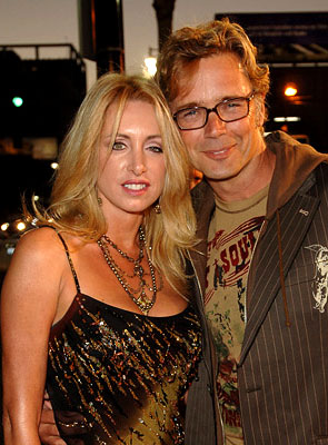 Premiere: John Schneider and wife Elly Castle at the LA premiere of Warner Bros. Pictures' North Country - 10/10/2005