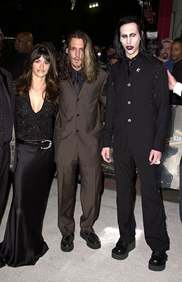 Premiere: Penelope Cruz, Johnny Depp and Marilyn Manson at the Hollywood premiere of New Line's Blow - 3/29/2001