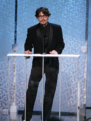 Johnny Depp Screen Actors Guild Awards - 2/5/2005