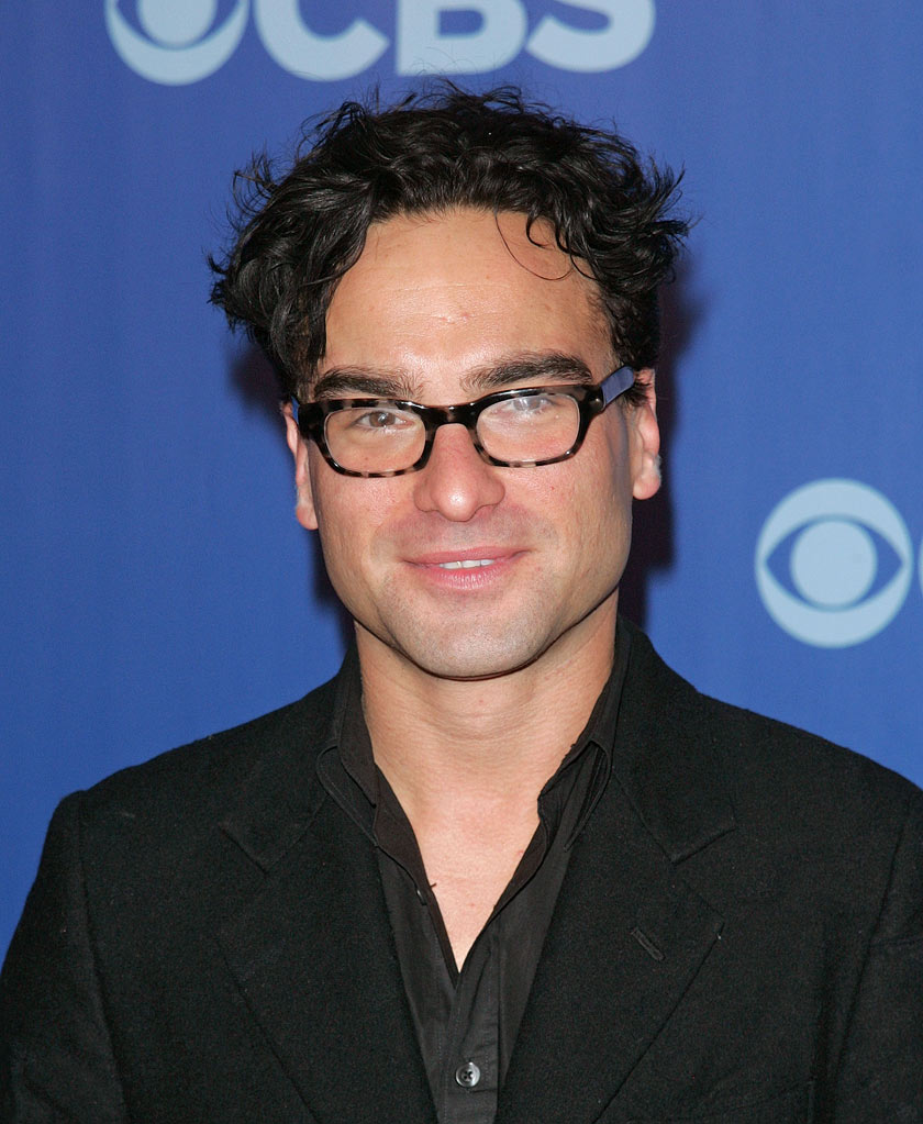 "Johnny Galecki (""Big Bang Theory"") attends the 2010 CBS Upfront at The Tent at Lincoln Center on May 19, 2010 in New York City."