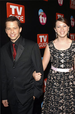 Jon Cryer and guest TV Guide & Inside TV After Party Emmy Awards - 9/18/2005