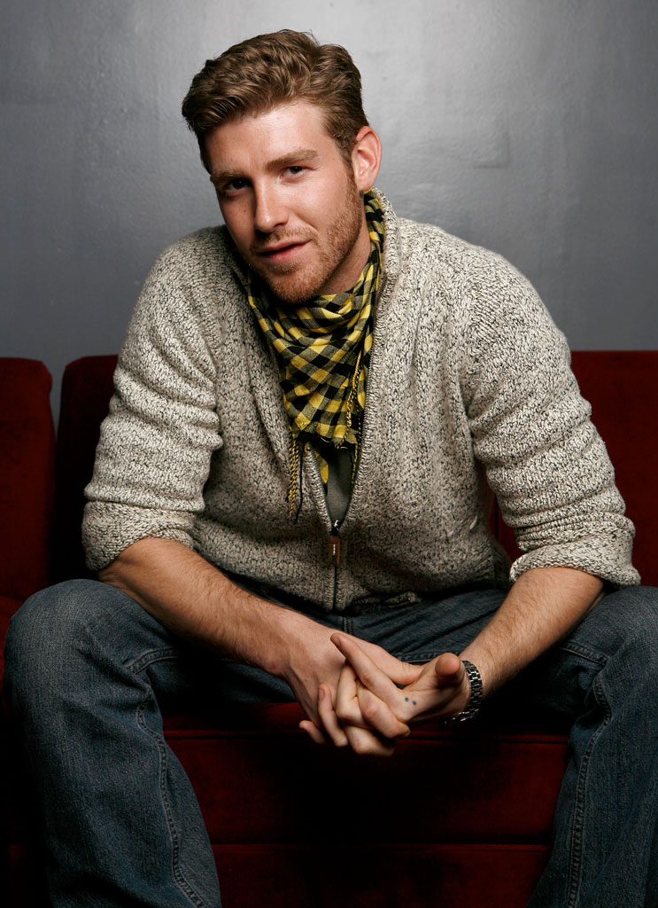 "Jon Foster of the film ""The Informers"" poses for a portrait at the Tao Lounge during the 2009 Sundance Film Festival on January 22, 2009 in Park City, Utah."