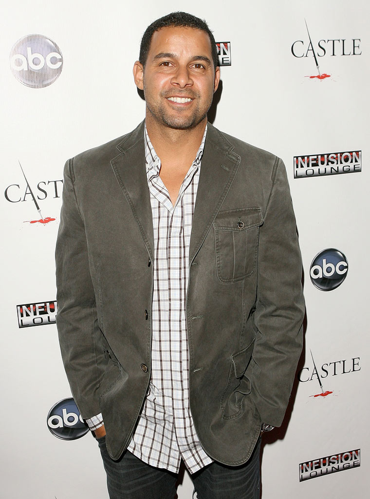 "Jon Huertas arrives at the ""Castle"" Season 3 premiere party on September 13, 2010, in Los Angeles."