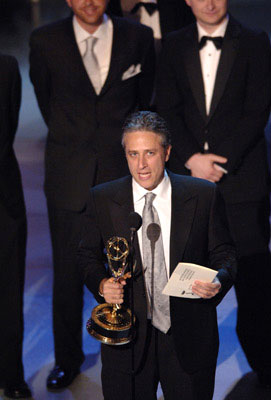 "Jon Stewart Outstanding Variety, Music or Comedy Series ""The Daily Show"" Emmy Awards - 9/18/2005"