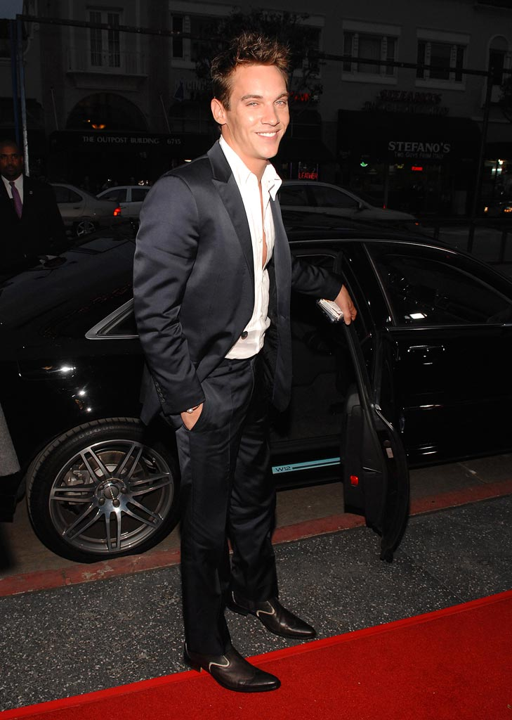 "Jonathan Rhys Meyers at ""The Tudors"" Premiere Screening."