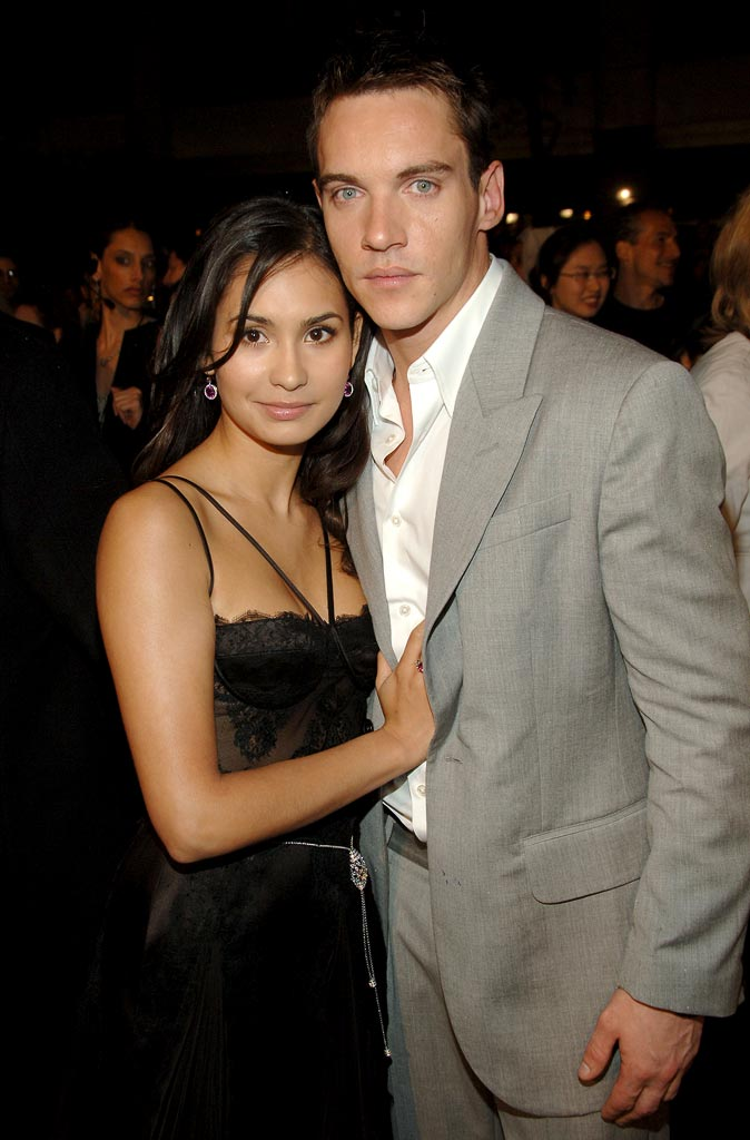 "Jonathan Rhys Meyers (right) and Reena Hammer at the 5th Annual Tribeca Film Festival - ""Mission: Impossible III"" New York Premiere."