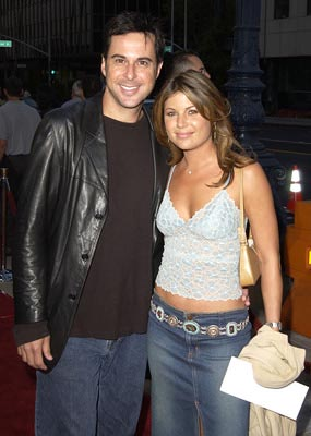 Premiere: Jonathan Silverman and Debbie Entin at the Beverly Hills premiere of Paramount's Serving Sara - 8/20/2002