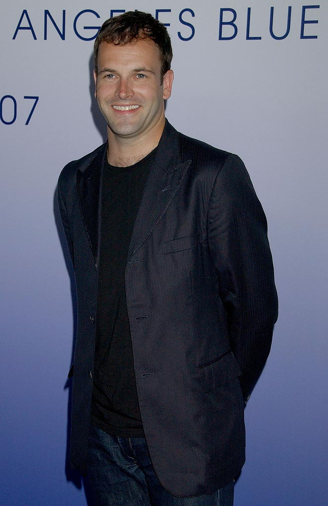 "Johnny Lee Miller arriving at the ""Europe's Soccer Stars Chelsea Football Club Exclusive Hollywood Party""."