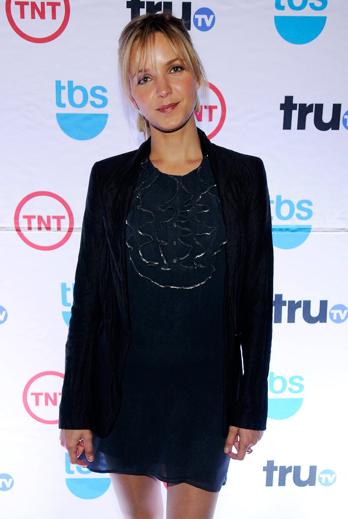 Jordana Spiro attends the 2008 Turner Upfront at Manhattan Center Studios in Hammerstein Ballroom on May 14, 2008 in New York City.