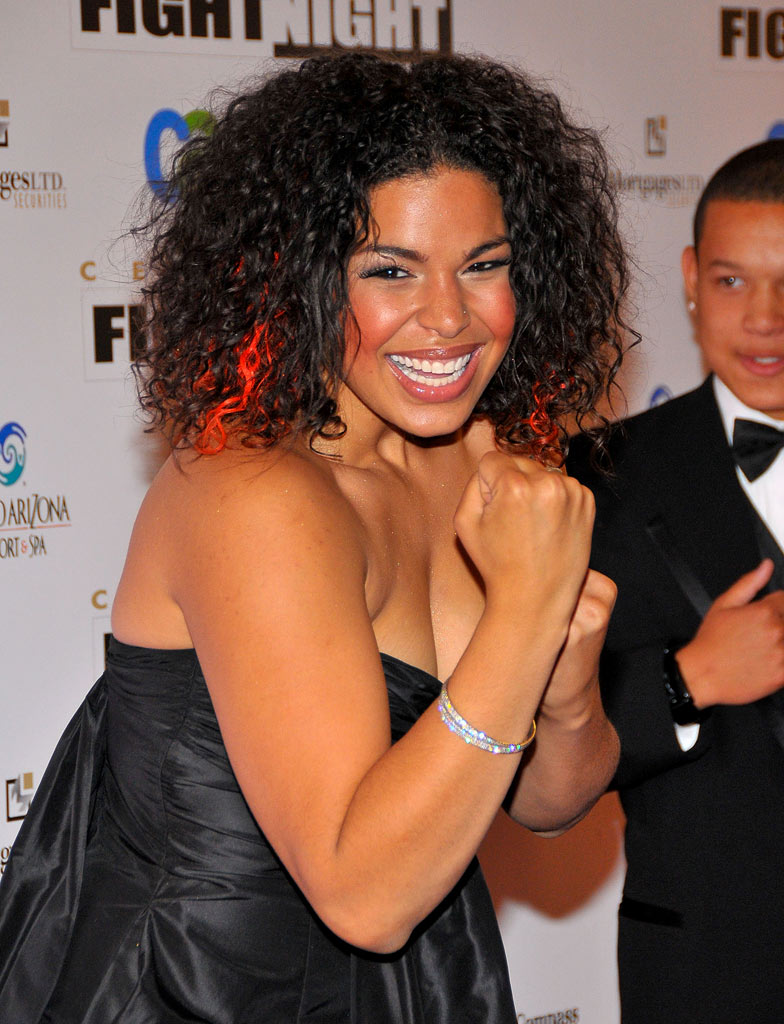 Jordin Sparks arrives to Muhammad Ali's Celebrity Fight Night XIV at the JW Marriott Desert Ridge Resort & Spa on April 5, 2008 in Scottsdale, Arizona.