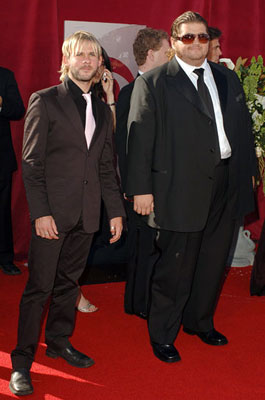 Dominic Monaghan and Jorge Garcia 57th Annual Emmy Awards Arrivals - 9/18/2005