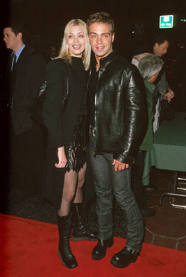Premiere: Joey Lawrence and his date at the Hollywood premiere of Dimension's Reindeer Games at the El Capitan Theatre - 2/21/2000