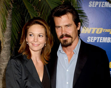 Premiere: Diane Lane and Josh Brolin at the Westwood premiere of MGM/Columbia Pictures' Into the Blue - 9/21/2005